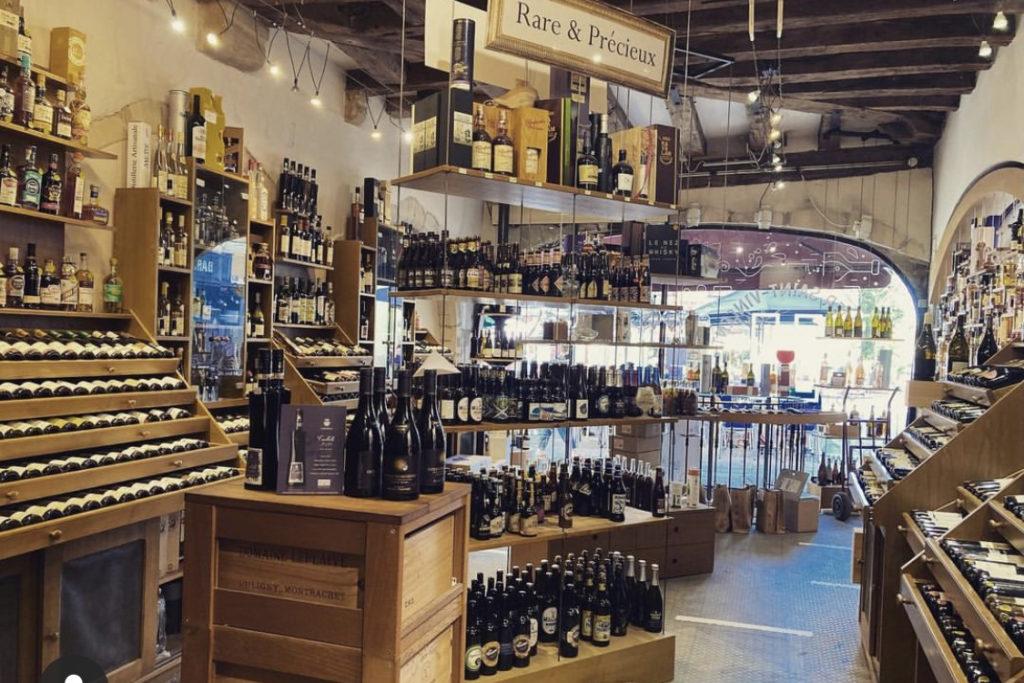 boutique partie vins