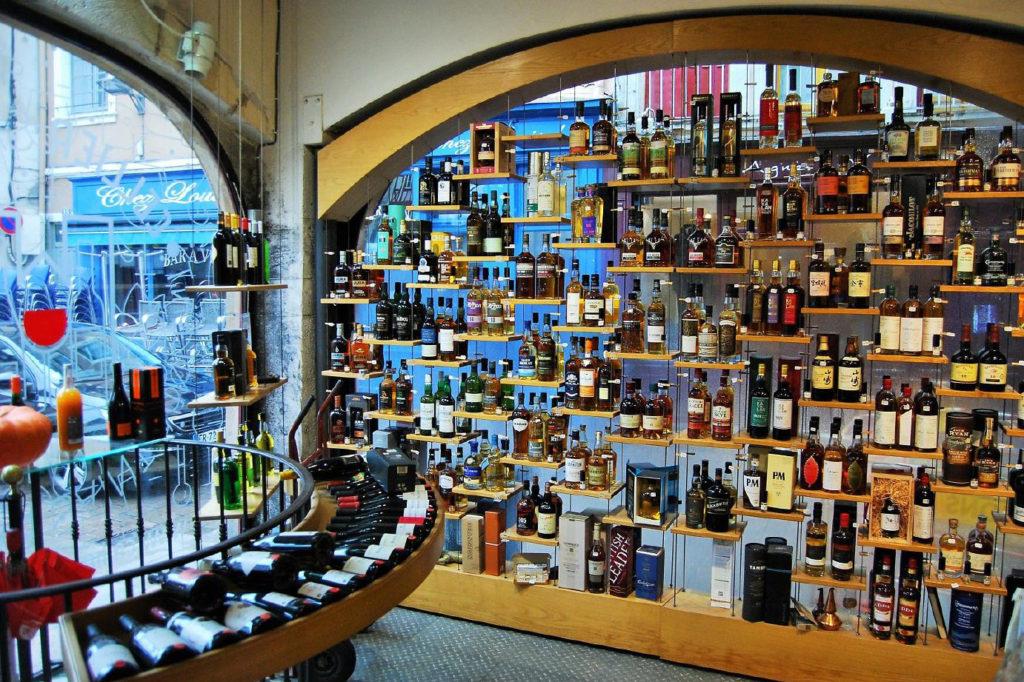 boutique partie whiskies